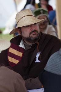 Don Tomás auf Pilgerreise
