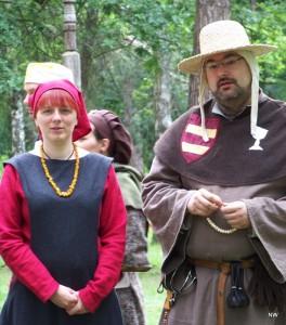 Fraile Tomás auf dem Fest der Freundschaft anno 1213